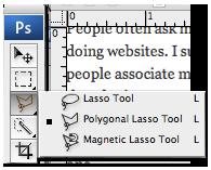 Polygonal Lasso Tool